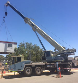 Lifts for Agriculture Southern Cross, Lifts for Mining Westonia, Loading Air Seeder Bar Wheatbelt Region